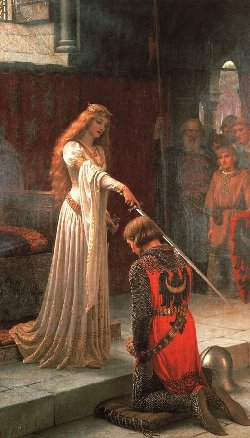 The Accolade by Leighton