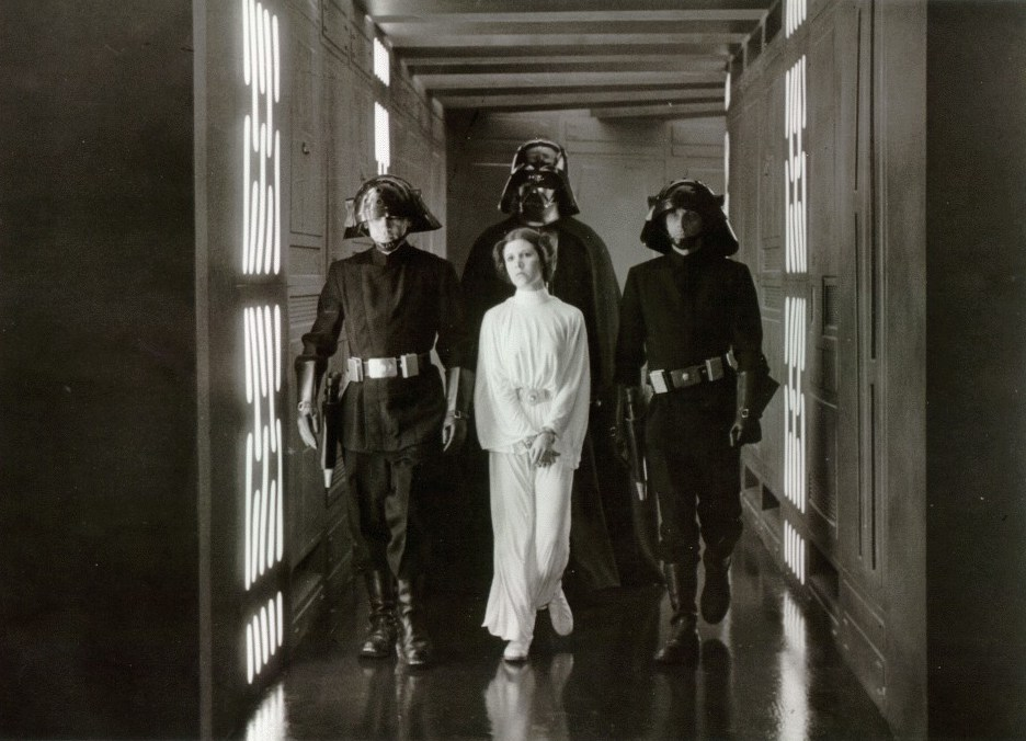 Captive on the Death Star