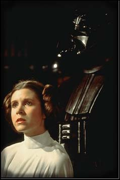 Leia and Vader