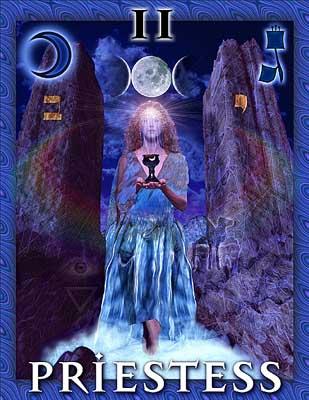 Millenium Tarot High Priestess